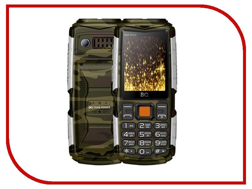 все цены на Сотовый телефон BQ BQ-2430 Tank Power Camouflage-Silver онлайн