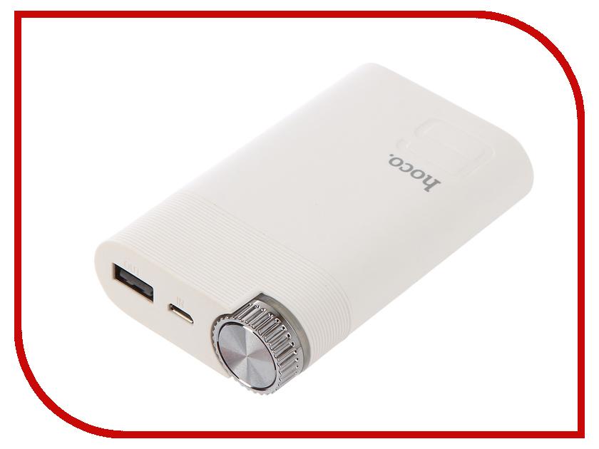 Аккумулятор HOCO B30 Color 8000mAh White внешний аккумулятор mango mp 8000 8000mah dc5v 2a pure white