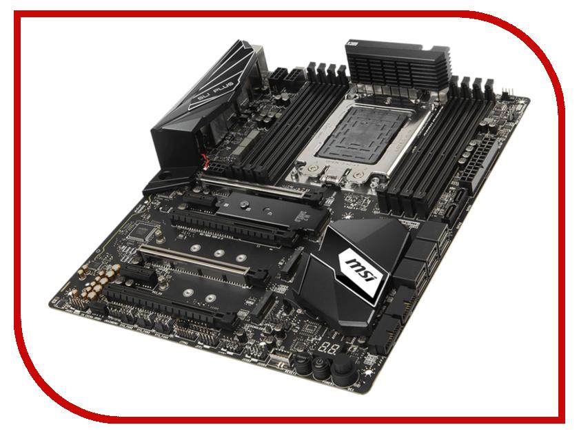 Материнская плата MSI X399 SLI PLUS msi original zh77a g43 motherboard ddr3 lga 1155 for i3 i5 i7 cpu 32gb usb3 0 sata3 h77 motherboard
