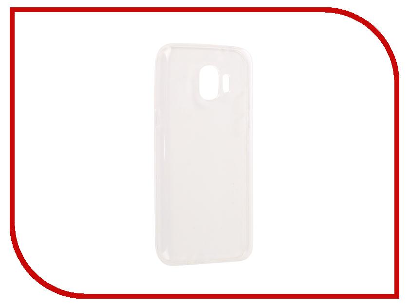 Аксессуар Чехол для Samsung Galaxy J2 2018 G532F Svekla Silicone Transparent SV-SGJ250F-WH аксессуар чехол lg k8 2017 gecko transparent glossy white s g lgk8 2017 wh