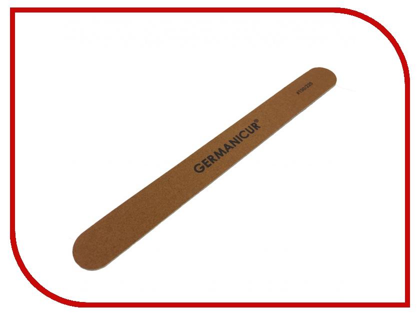 Аксессуар Пилка-наждак Germanicure GM-1806-WOOD (150/220) Brown 37375/0 аксессуар пушер germanicure gm 150 37343