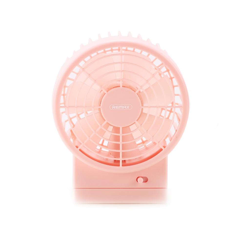 Вентилятор от USB Remax F19 Pink