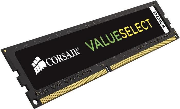 Модуль памяти Corsair ValueSelect DDR4 DIMM 2666MHz PC4-21300 CL18 - 8Gb CMV8GX4M1A2666C18