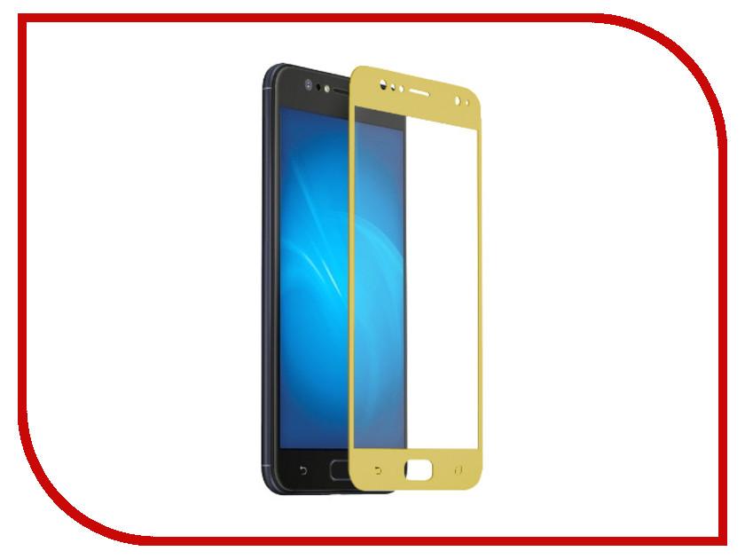 Аксессуар Защитное стекло для ASUS ZenFone 4 Selfie ZD553KL Svekla Full Screen Gold ZS-SVASZD553KL-FSGOLD