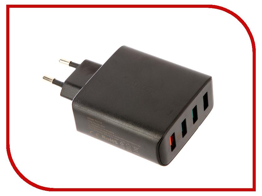 Зарядное устройство Aukey PA-T18 4-Port LLTSEU176180 зарядное устройство aukey 4xusb cc t9