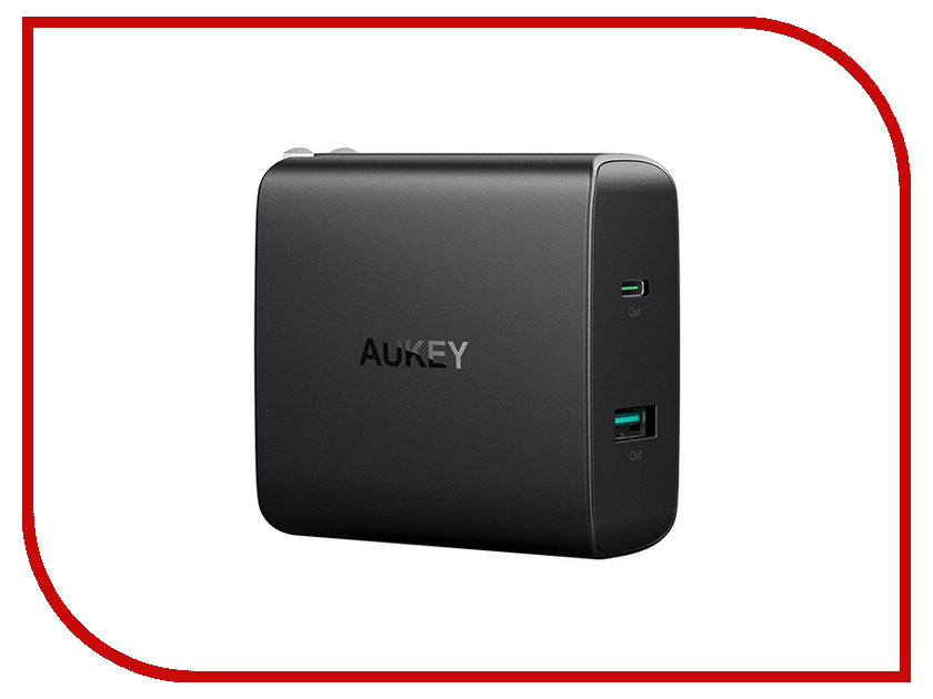 Зарядное устройство Aukey PA-Y10 2-Port LLTSEU143295 зарядное устройство orient pa 06 12v dc 3a orient pa 06