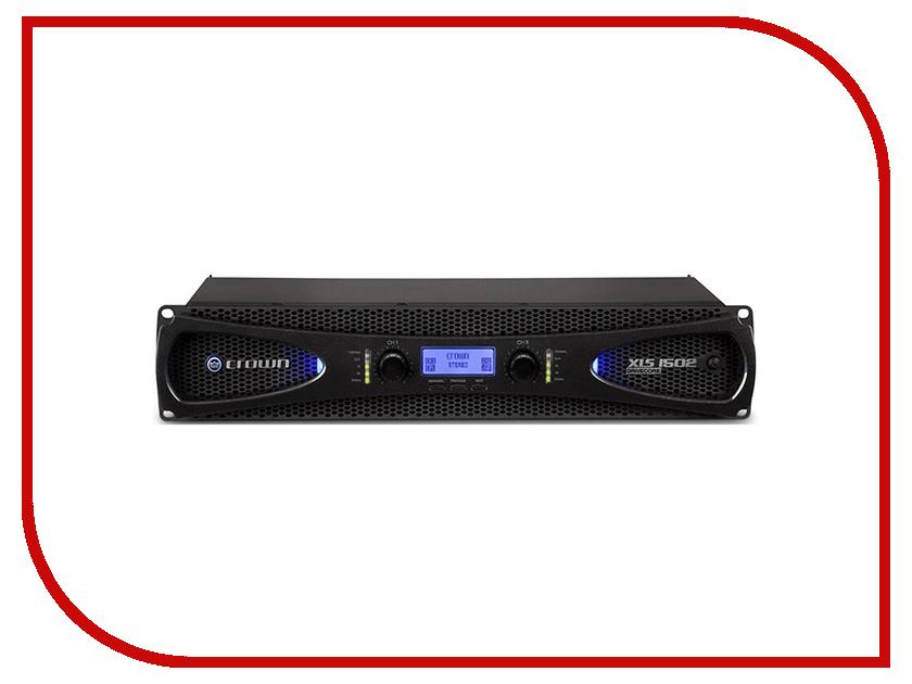 Усилитель Crown XLS 1502 усилитель мощности до 800 вт 4 ом crown xls 1002