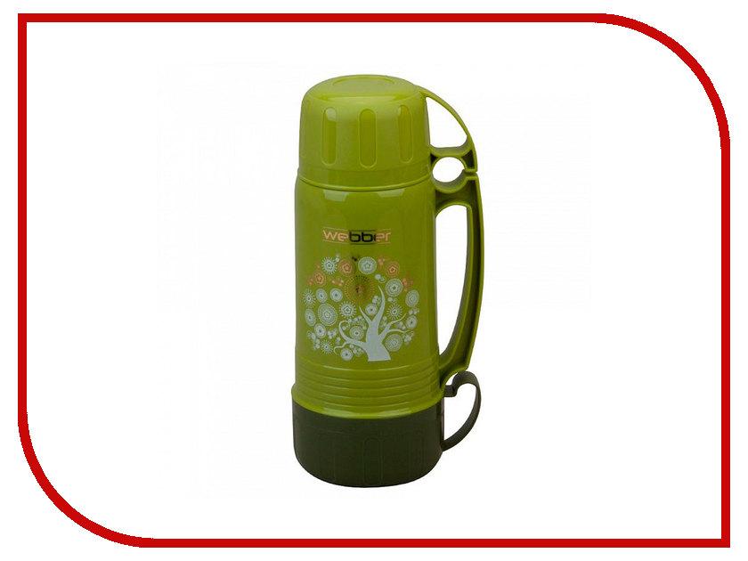Термос Webber 1.0L Green 41001/3S степлер мебельный gross 41001