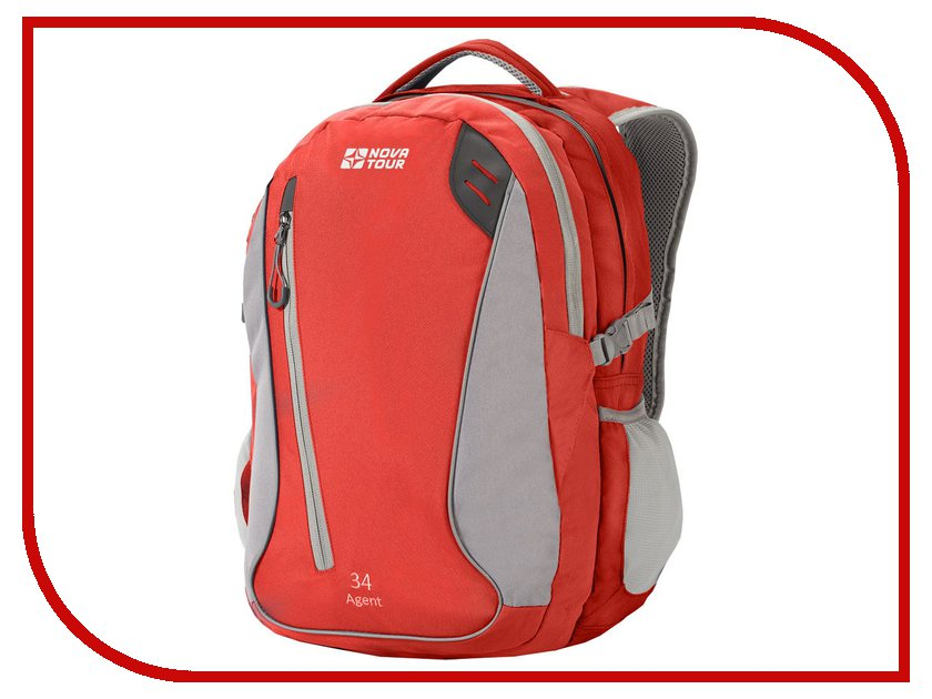 Рюкзак Nova Tour Агент 34 Grey-Red 95402-055-00