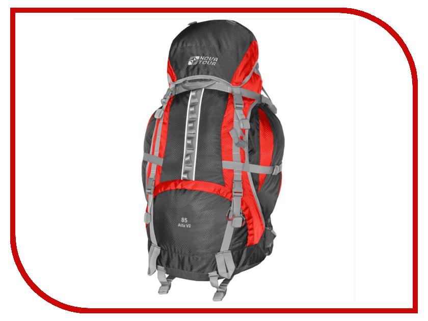 Рюкзак Nova Tour Альфа 85 V2 Grey-Red 95312-057-00