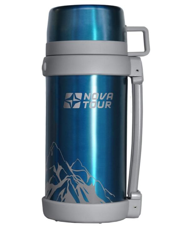 Термос Nova Tour Пал 1500 1.2L Blue 95754-407-00 цена и фото