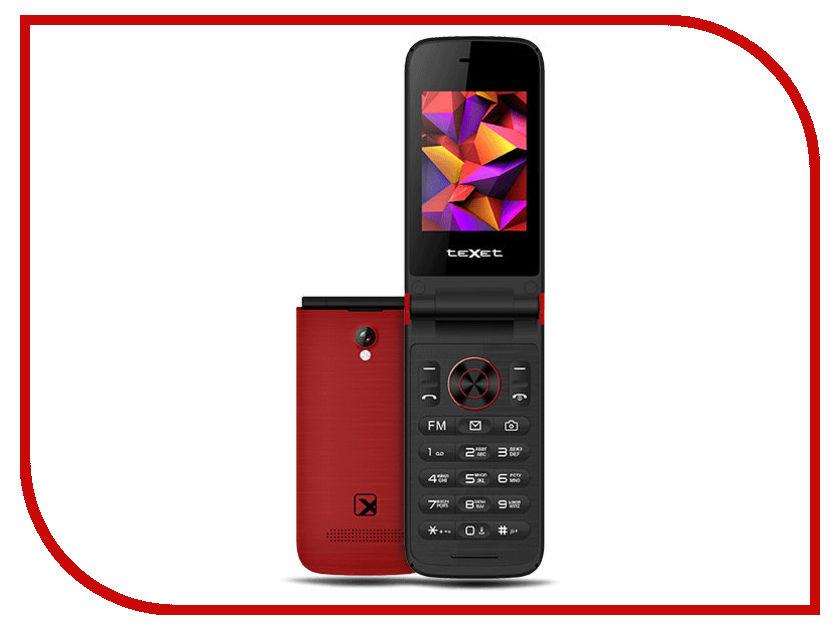 Сотовый телефон teXet TM-401 Pomegranate телефон texet tm 401 гранатовый 2 4 32 мб