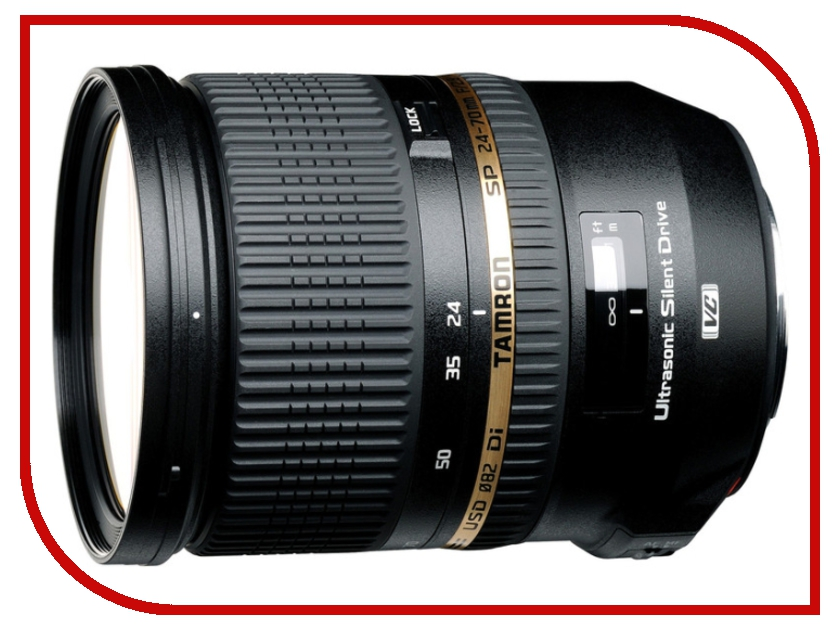 Объектив Tamron Canon SP AF VC 24-70 mm F/2.8 Di USD<br>