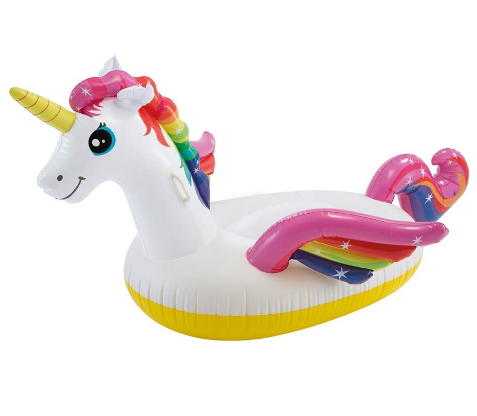 Надувная игрушка Intex Плотик Единорог 57561