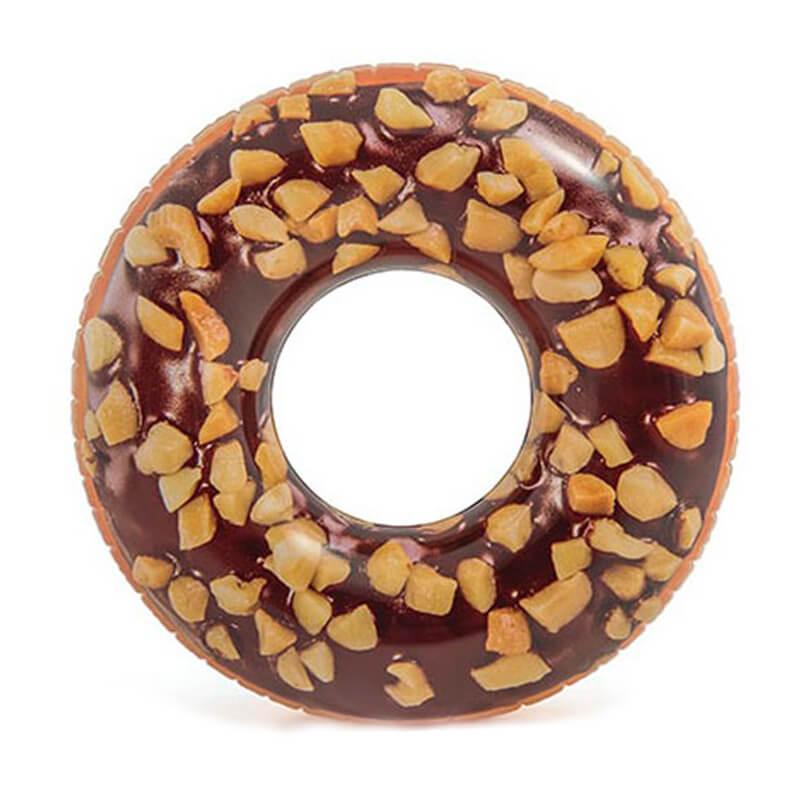 Надувной круг Intex Пончик Шоколад 56262