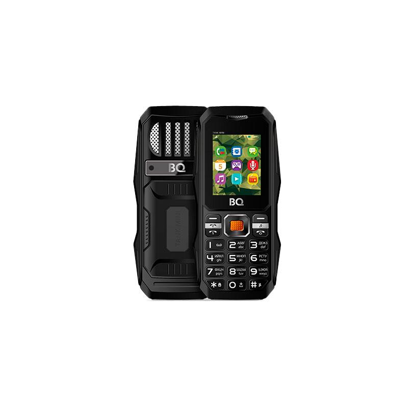 Сотовый телефон BQ BQ-1842 Tank Mini Black цена и фото