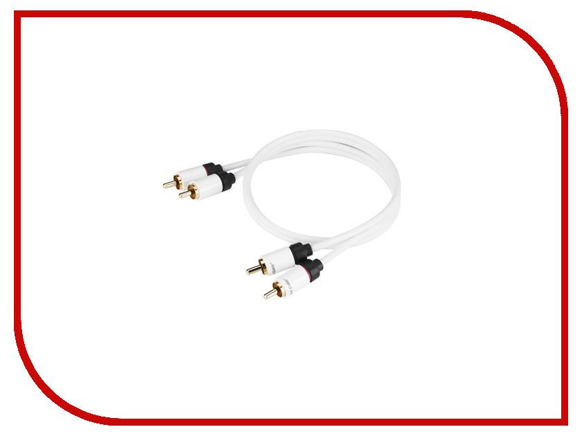 Аксессуар Real Cable 2RCA-1 0.5m
