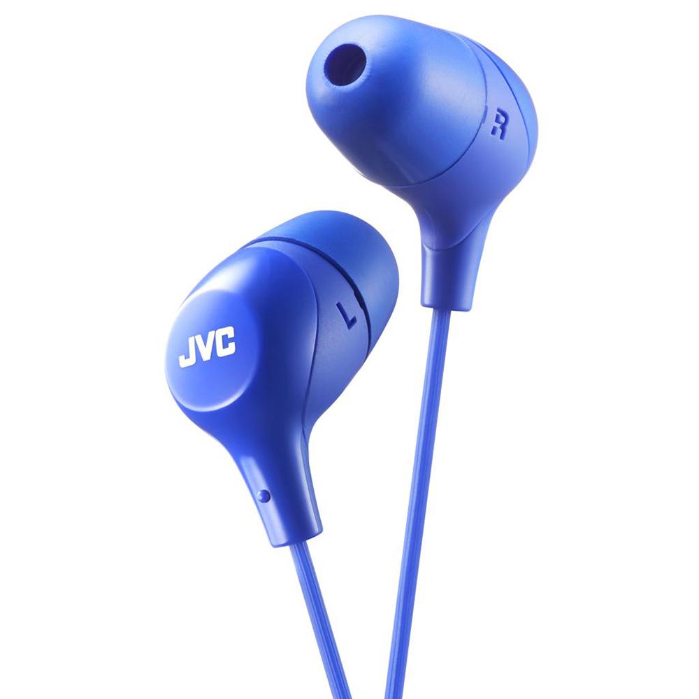 Наушники JVC HA-FX38-A-E Blue jvc ha f160 w white