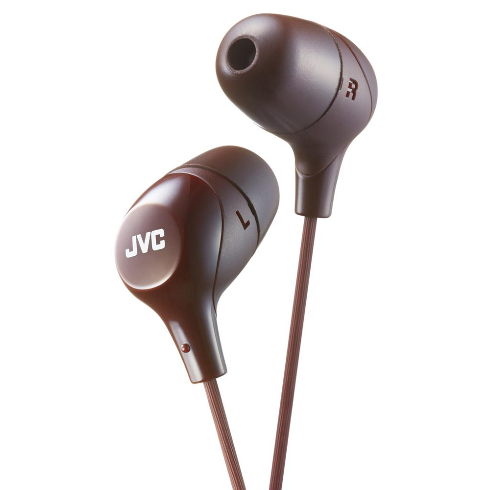 цена Наушники JVC HA-FX38-T-E Brown онлайн в 2017 году