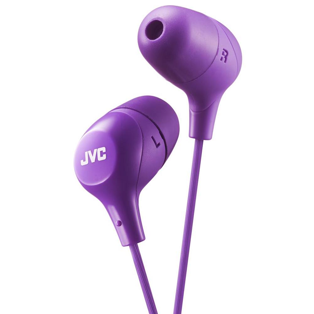 цена Наушники JVC HA-FX38-V-E Purple онлайн в 2017 году