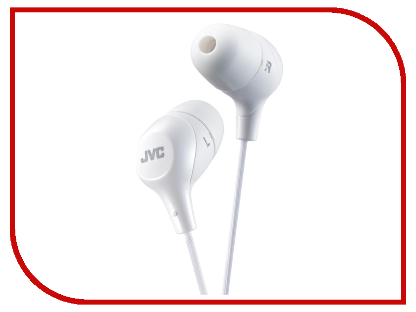 JVC HA-FX38-W-E White jvc ha fx32r red