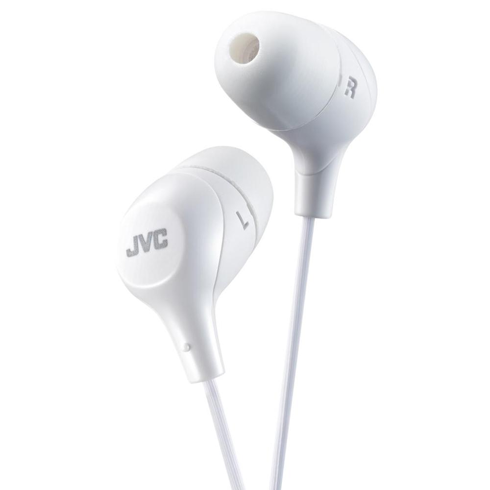 цена Наушники JVC HA-FX38-W-E White онлайн в 2017 году