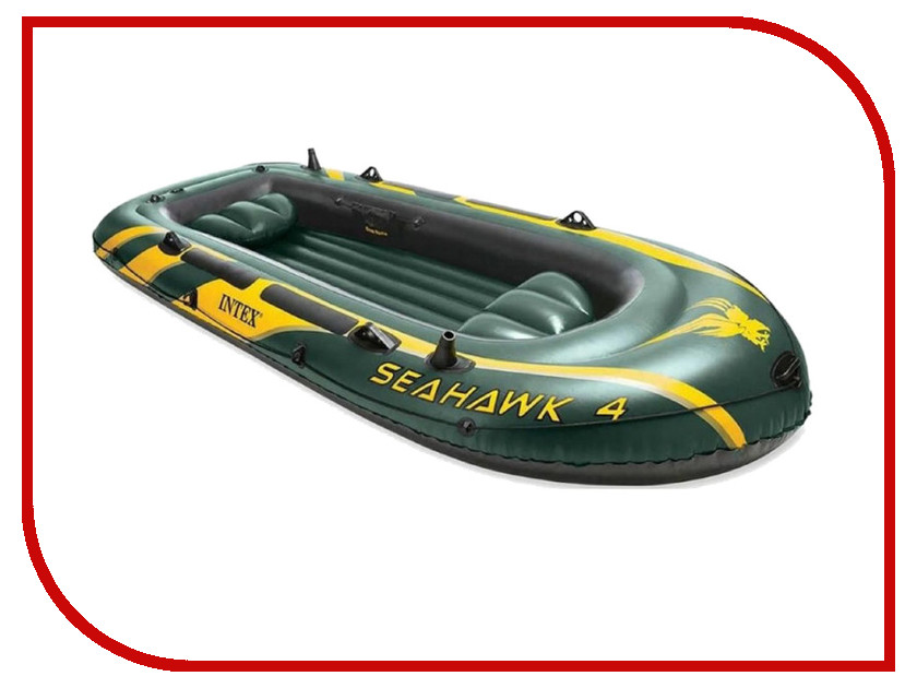 Лодка Intex Seahawk 68350 лодка надувная intex seahawk 2 68347