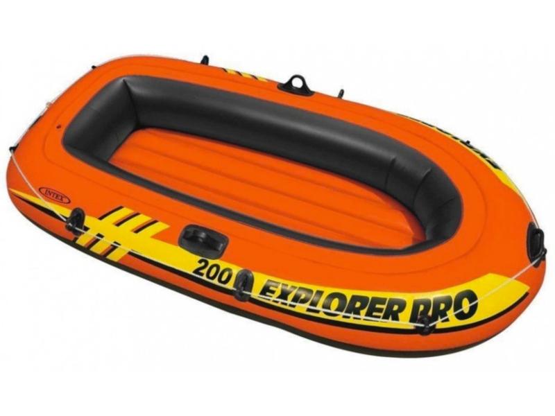 Лодка Intex Explorer Pro 200 58356 лодка altair pro 385 airdeck