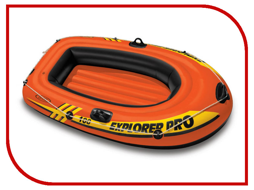 Лодка Intex Explorer Pro 100 58355 intex гамак тканевый 100