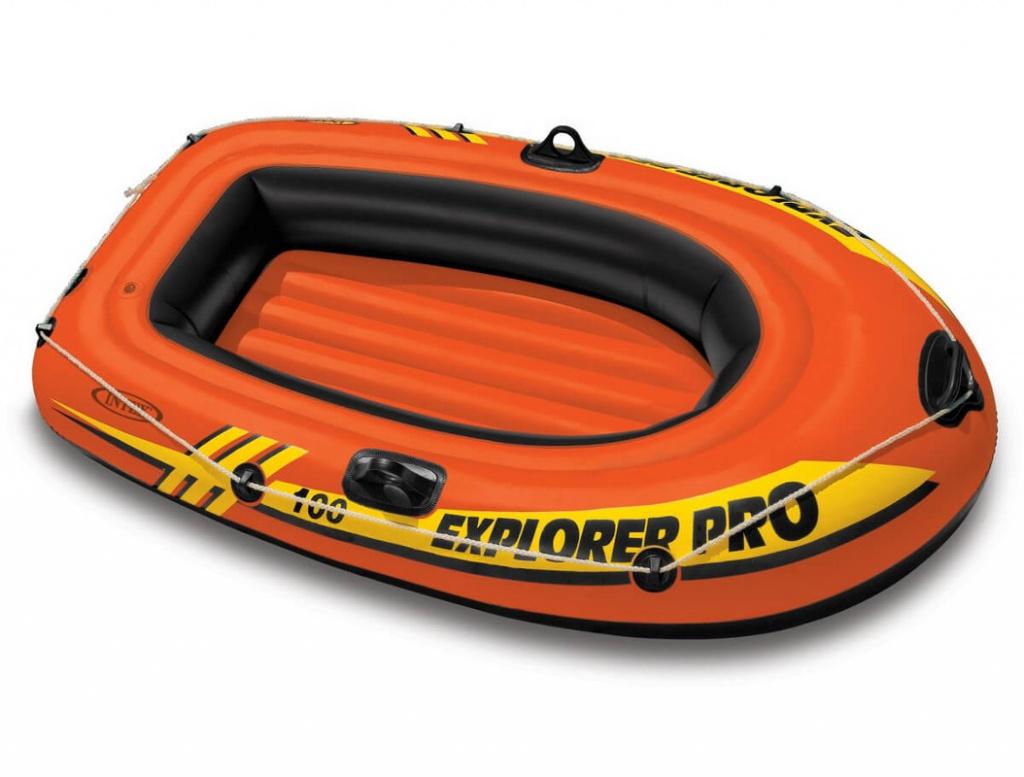 Лодка Intex Explorer Pro 100 58355 лодка altair pro 385 airdeck