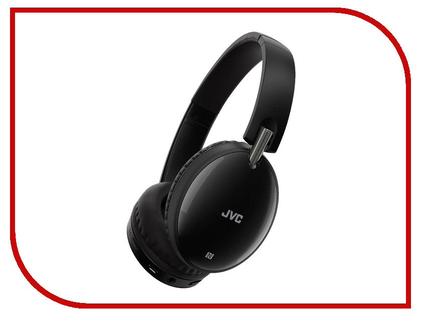JVC Bluetooth HA-S70BT-E Black jvc ha fx32r red