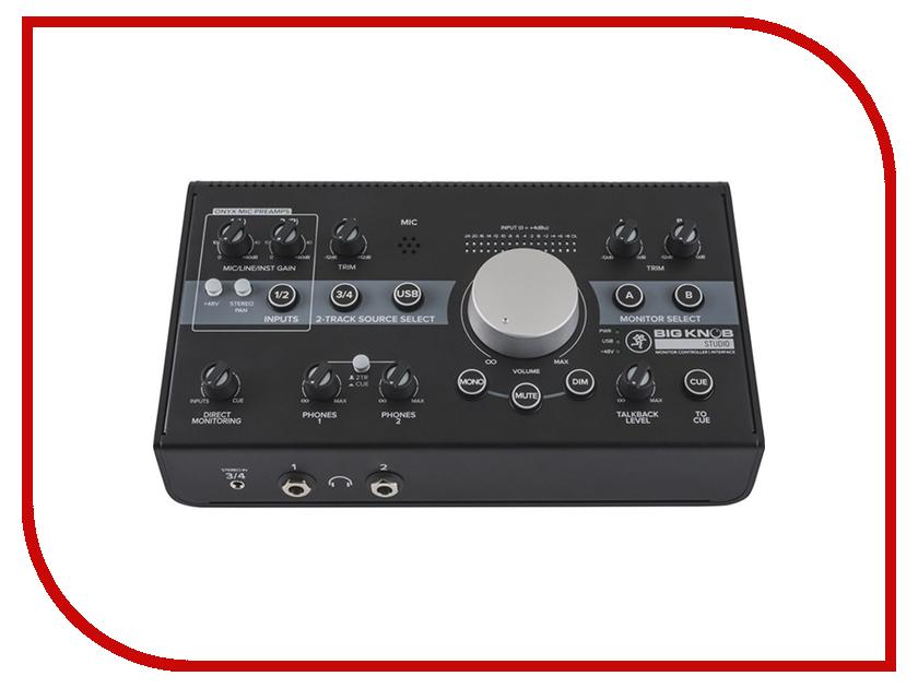 MIDI-контроллер Mackie Big Knob Studio+ Мониторный контроллер