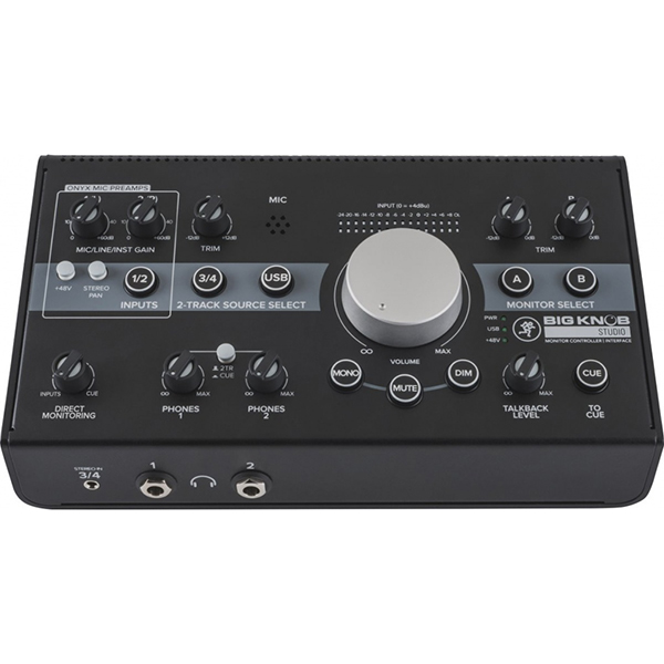 MIDI-контроллер Mackie Big Knob Studio+ Мониторный контроллер недорго, оригинальная цена
