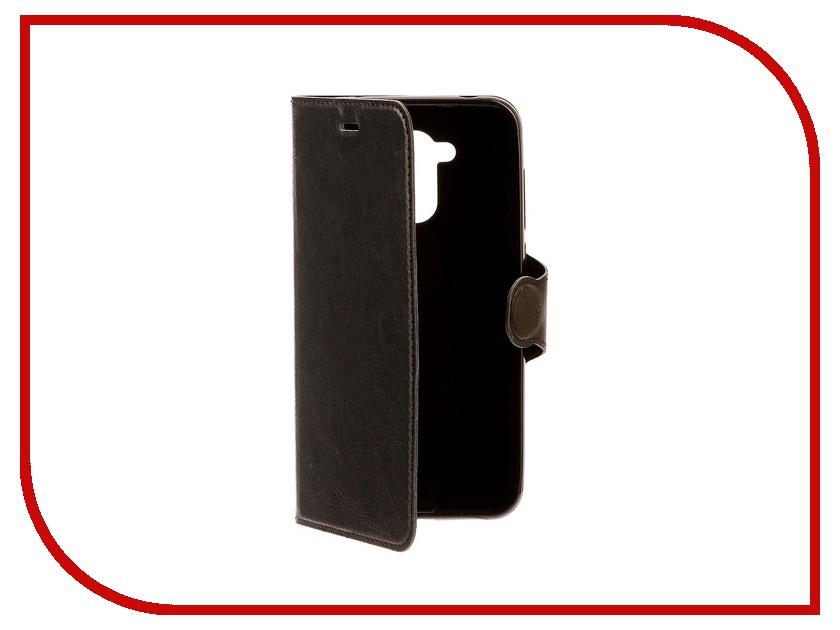Аксессуар Чехол-книжка для Huawei Honor 6C Pro Red Line Book Type Black УТ000013086