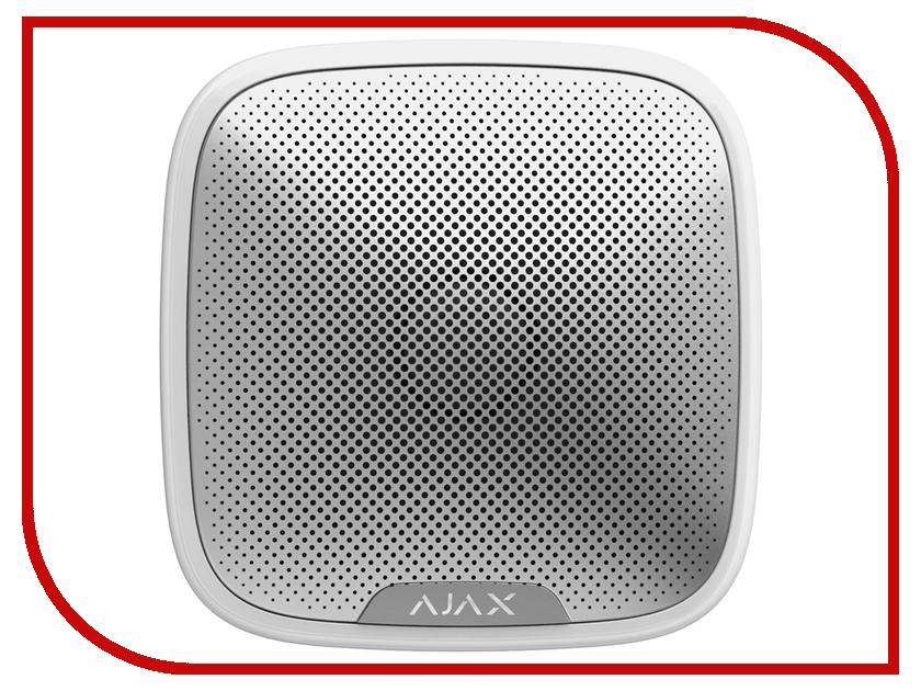 Сирена Ajax StreetSiren White датчик ajax fireprotect plus white