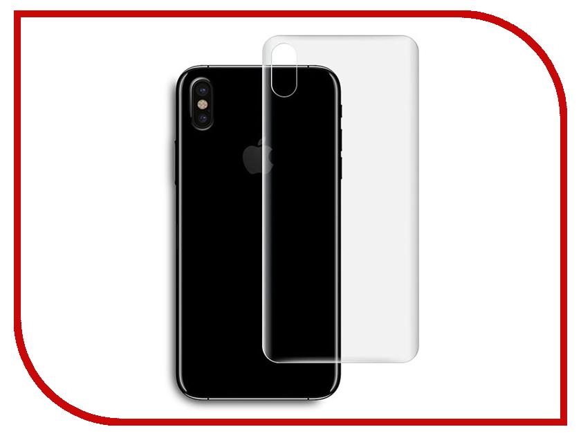 Аксессуар Защитная пленка Red Line APPLE IPhone X задняя матовая