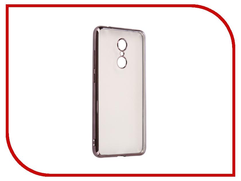 Аксессуар Чехол Xiaomi Redmi 5 iBox Blaze Silicone Black frame аксессуар чехол xiaomi redmi note 4 ibox blaze silicone black frame