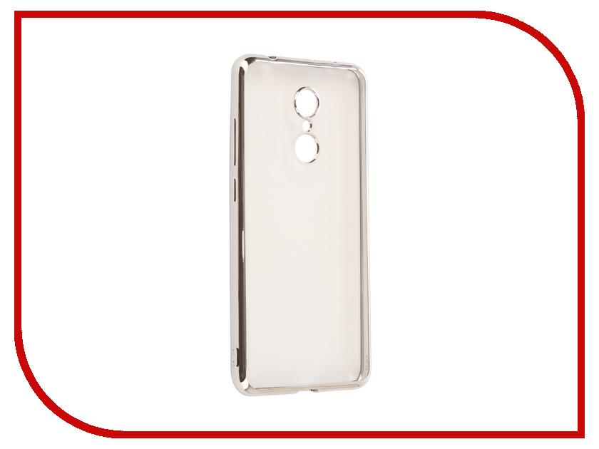 Аксессуар Чехол для Xiaomi Redmi 5 iBox Blaze Silicone Silver Frame