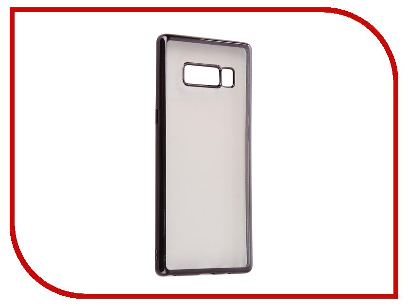 Аксессуар Чехол Samsung Galaxy Note 8 iBox Blaze Black frame клавиатура для samsung galaxy note 10 1