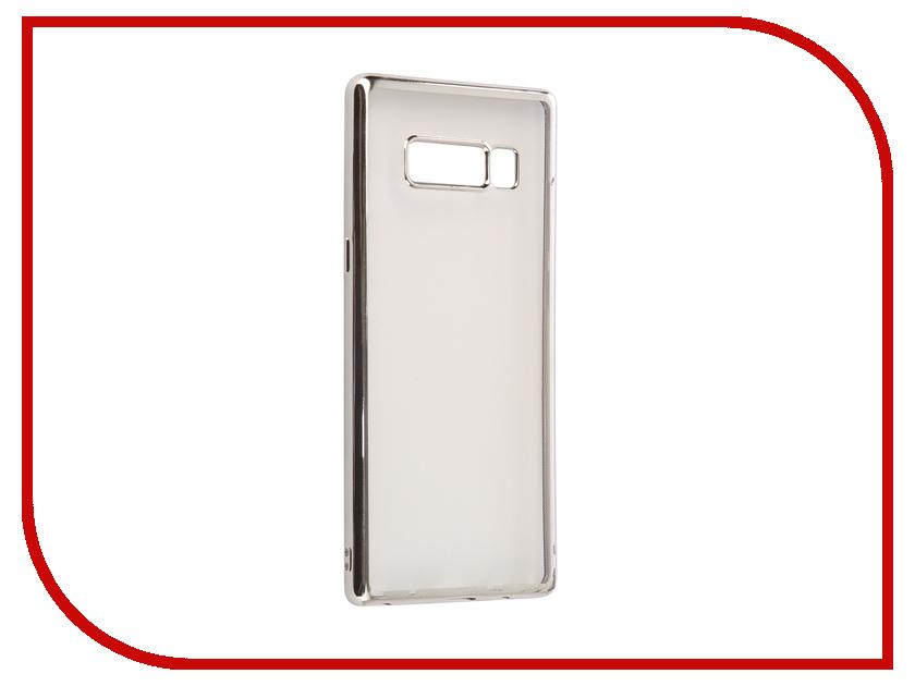 Аксессуар Чехол Samsung Galaxy Note 8 iBox Blaze Silver frame клип кейс ibox fresh для samsung galaxy s5 mini черный