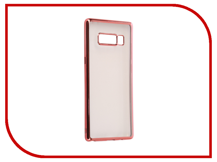 Аксессуар Чехол Samsung Galaxy Note 8 iBox Blaze Pink frame клип кейс ibox fresh для samsung galaxy s5 mini черный