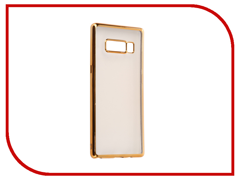 Аксессуар Чехол для Samsung Galaxy Note 8 iBox Blaze Gold frame fashionable protective bumper frame case with bowknot for samsung galaxy s3 i9300 black