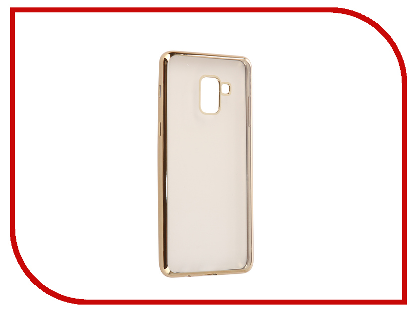 Аксессуар Чехол для Samsung Galaxy A8 Plus 2018 A730 iBox Blaze Gold frame аксессуар чехол для samsung galaxy a8 2018 a530 ibox crystal transparent
