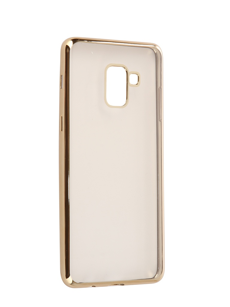 Аксессуар Чехол iBox для Samsung Galaxy A8 Plus 2018 A730 Blaze Gold Frame телефон samsung sm a730 galaxy a8 2018 32gb черный