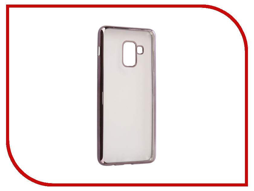 Аксессуар Чехол Samsung Galaxy A8 2018 A530 iBox Blaze Black frame клип кейс ibox blaze для samsung galaxy a3 2016 черный