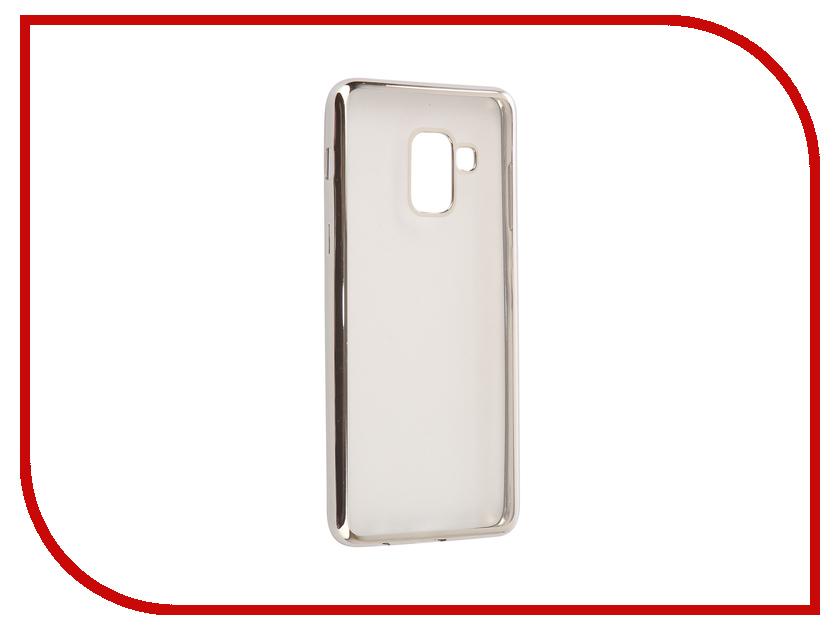Аксессуар Чехол Samsung Galaxy A8 2018 A530 iBox Blaze Silver frame клип кейс ibox blaze для samsung galaxy a3 2016 черный