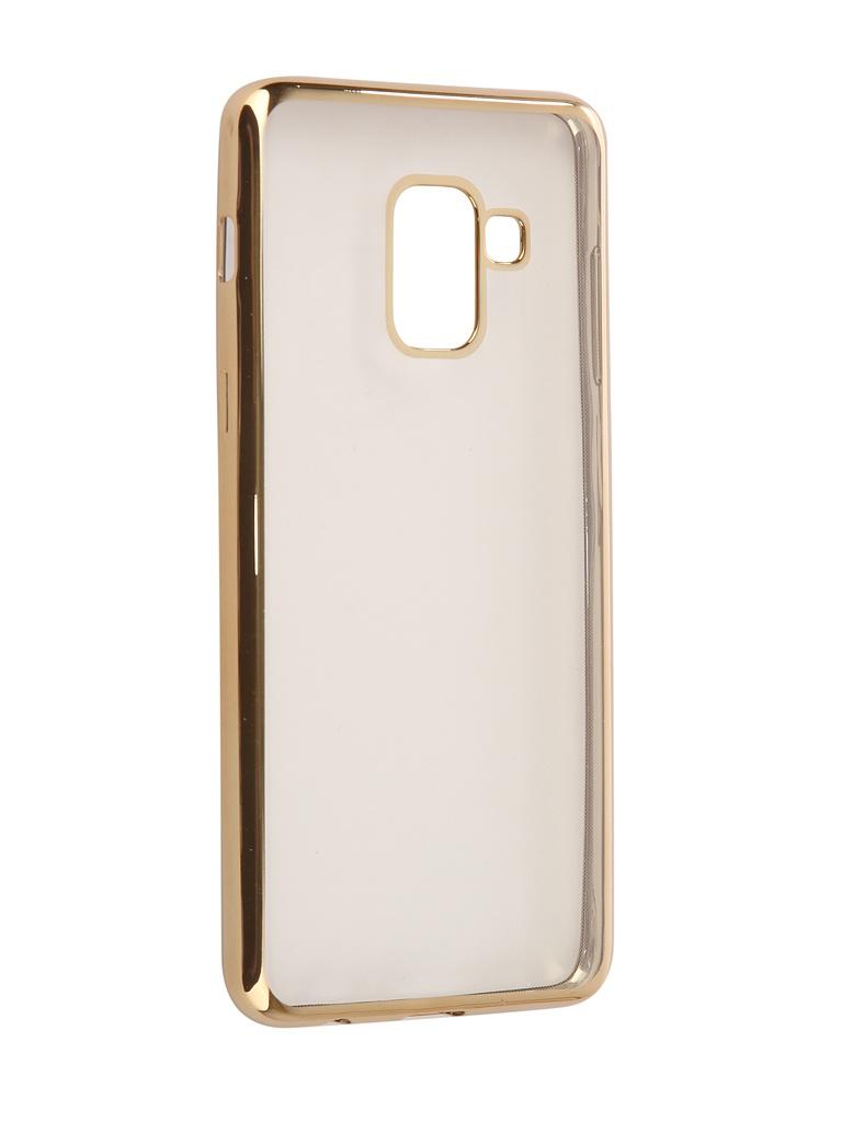 Аксессуар Чехол iBox для Samsung Galaxy A8 2018 A530 Blaze Gold Frame защитное стекло pero для samsung a8 a530