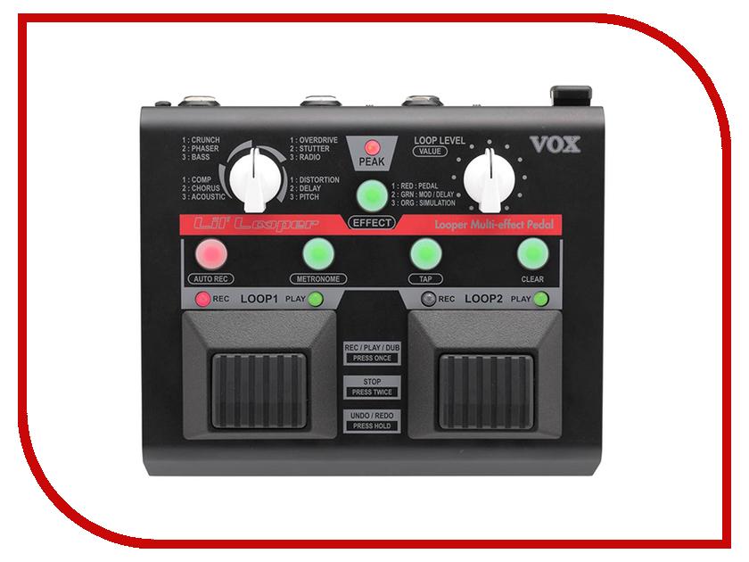 Педаль VOX Lil Looper VLL-1 сетевое оборудование wow landro s lil