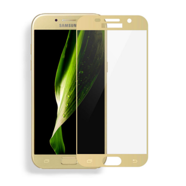 Аксессуар Защитное стекло Red Line для Samsung Galaxy A5 2017 Full Screen 3D Tempered Glass Gold УТ000012592
