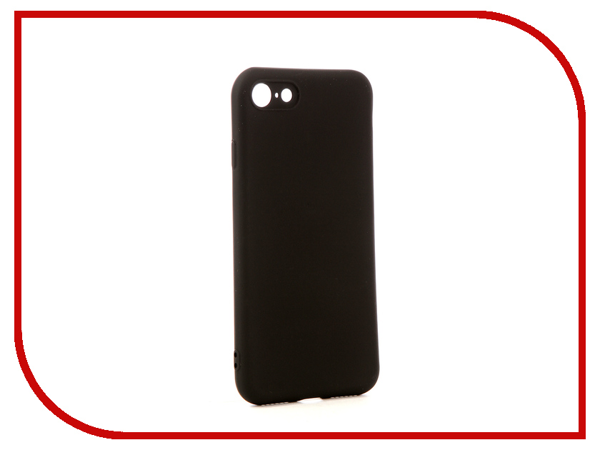 Аксессуар Чехол Red Line Ultimate APPLE iPhone 7 / 8 Black УТ000014107 аксессуар чехол накладка smarterra marshmallow cover red для apple iphone 7 mmcip7rd